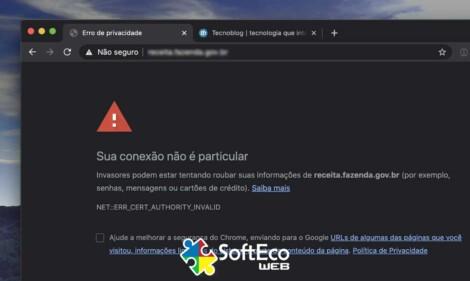 Certificação SSL - Softeco WEB